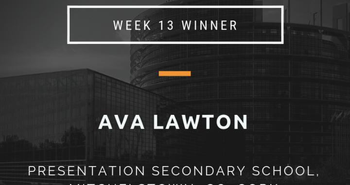 week 13 winner